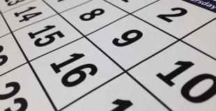 Le calendrier de l'année scolaire 2017-2018 est publié