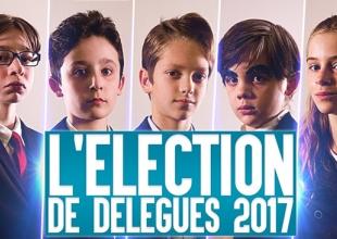 L'élection des délégués 2017, parodie des candidats à la présidentielle