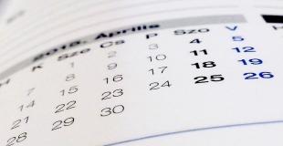 Calendrier de l'année scolaire 2012–2013 définitivement arrêté