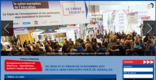 Salon Européen de l'Education à Paris du 22 au 25 novembre 2012