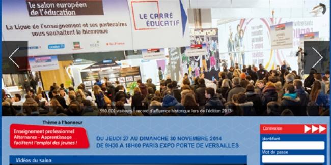 Salon europ en de l 39 education paris du 22 au 25 novembre for Salon a paris en novembre