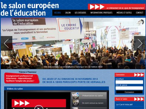 Salon europ en de l 39 education paris du 22 au 25 novembre for Salon europeen de l education porte de versailles
