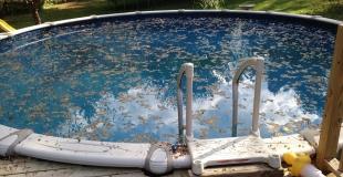 L'entretien de la piscine pour une eau propre : un impératif, surtout pour les enfants